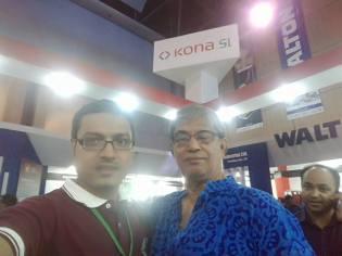 With Mostafa Zabbar