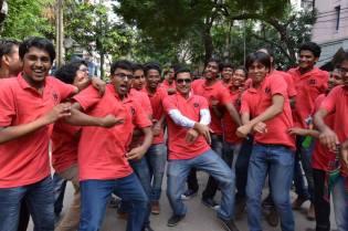 Celebration with Students on Ragday