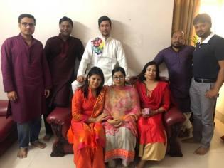 Celebrating Pohela Boishakh 2019 with Friends at Apu's Residence